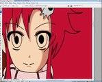 Speedpaint Yoko littner (gurren lagann)