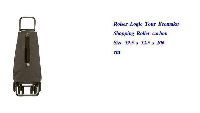 Rolser Logic Tour Ecomaku Shopping Roller carbon Size