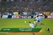 Brasil x Uruguai - Copa América 89 - Gol do Romário