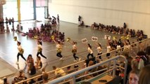 Cheerleaders Templiers Juniors. Challenge IDF 2015