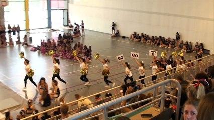 Cheerleaders Templiers Juniors. Challenge IDF 2015