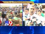 Harish rao,pocharam srinivas launches vegetable markets in Mehdipatnam
