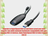 Cable Matters? SuperSpeed USB 3.0 Type A Male to Female Active Extension Cable 10 Meters/32.8