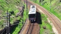 [WEST JR 521 Series] JR西日本 521系 近郊型交直流電車 春の北陸本線を走る [Spring 2013]