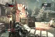 Gears of War 2 Gameplay Xbox Live Online Multiplayer Horde Mode Wave 11