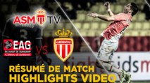 W18 EA Guingamp 0-2 AS Monaco FC, Highlights