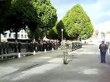 Honras Militares aos restos mortais de 2 militares tombados em combate