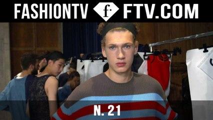 N. 21 Backstage Spring/Summer 2016 | Milan Collections: Men | FashionTV