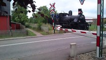 Steam Locomotive DSB K 582 shunting at Græsted on June 17, 2012