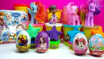 Kinder surprise eggs - Peppa pig kinder surprise eggs play doh peppa egg toys