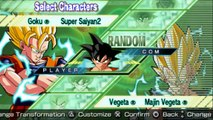 Dragonball Z Shin Budokai Another Road Super Saiyan 2 Goku vs Majin Vegeta