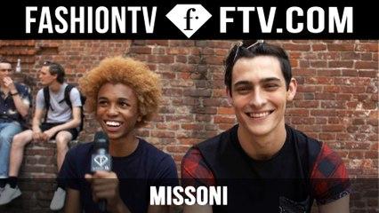 Missoni Backstage Spring/Summer 2016 | Milan Collections: Men | FashionTV