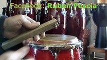 Como hacer un afinador de Congas y Bongó - Hazlo tu Mismo (Home made bongoe tuner)