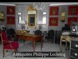 Collection d'antiquités du magasin Philippe Leclercq, antiquaire à Versailles
