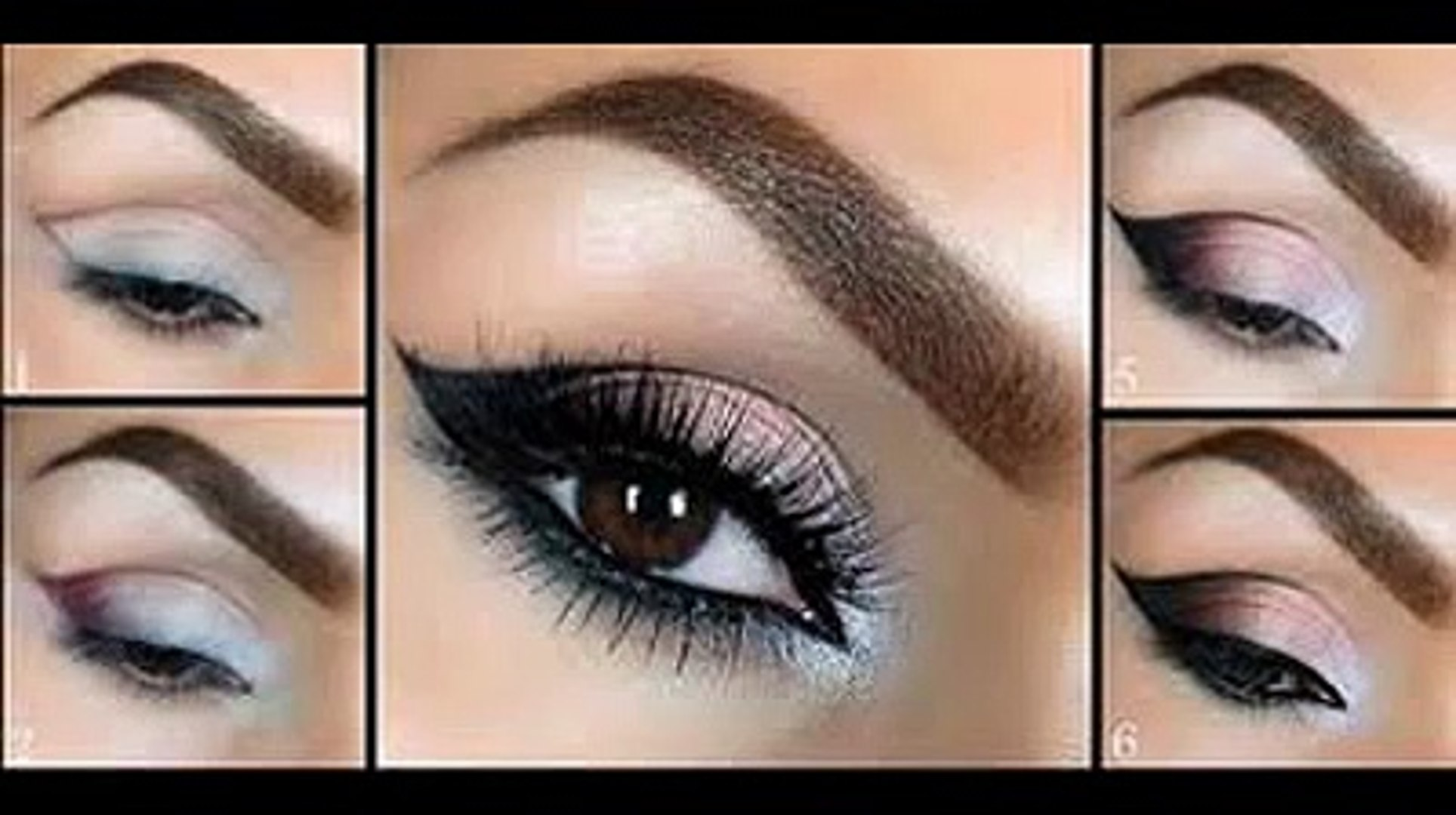best eye makeup step by step