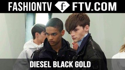Diesel Black Gold Backstage Spring/Summer 2016 | Milan Collections: Men | FashionTV