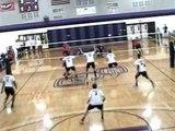 Nick Jensen Spikes 4 - NCAA D1 Men's Volleyball