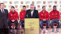 Audi und FC Barca - Barca-Spieler wählen Audi