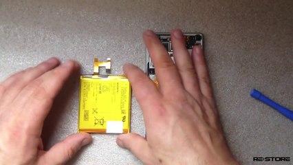 Замена защитного стекла(экрана, дисплея, разборка) Sony Xperia М2
