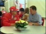 Michael Schumacher and Ayrton Senna, interesting interviews