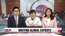 President Park seeks advice from infectious disease experts amid MERS outbreak