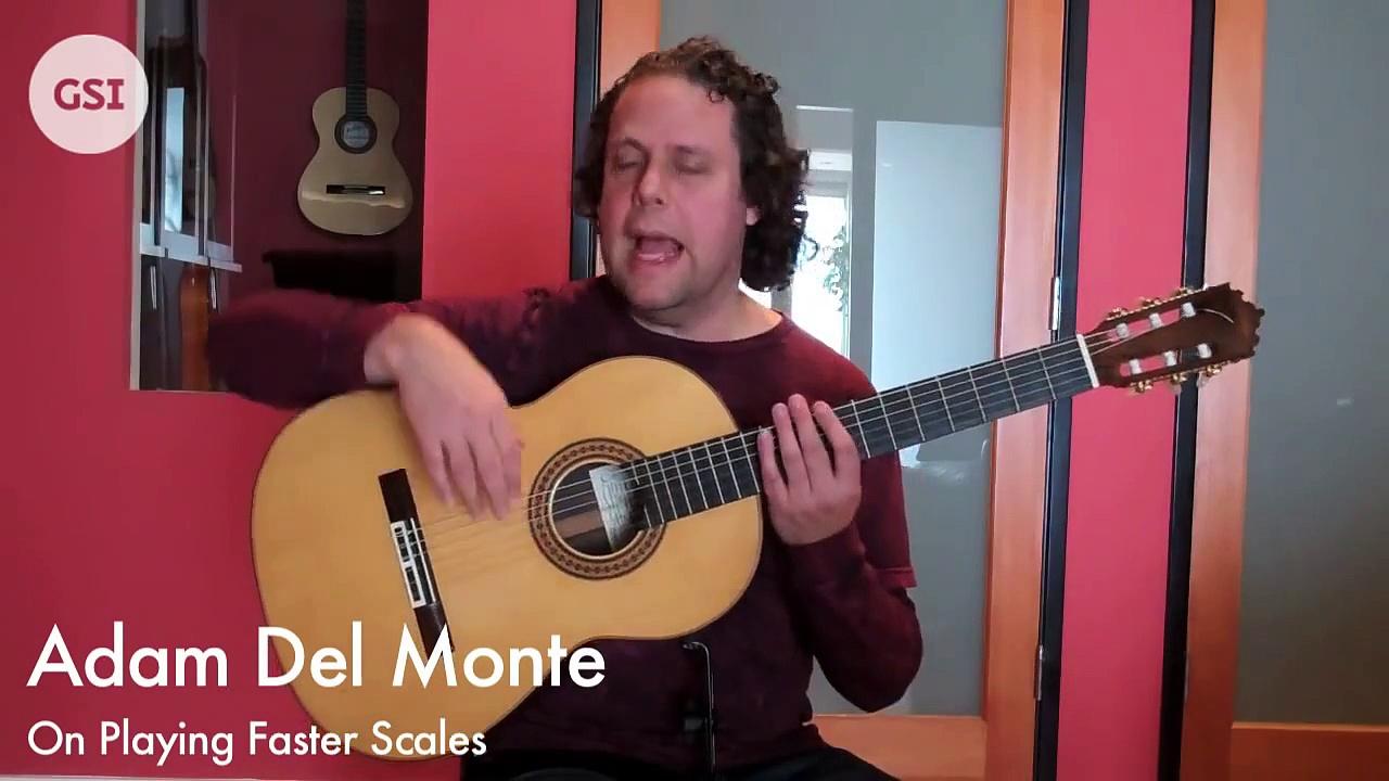 Adam Del Monte – How to Play Faster Scales: Flamenco Guitar at Guitar Salon International