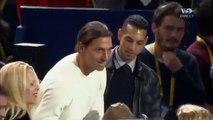 Tennis     Novak Djokovic invite Zlatan Ibrahimovic à faire quelques balles