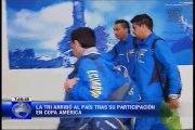 La Tri arribó al país tras su participación en Copa América