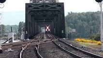 Columbia River Railroad Bridge @ Vancouver, WA. BNSF Light Power.
