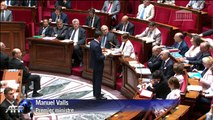 """Espionnage: Valls dénonce des """"pratiques inacceptables"""""""