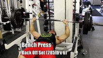 315lb Bench Press (Full Chest Training Workout) Oct. 21st 2013