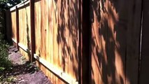 How To Build Wood Fence with Metal Posts