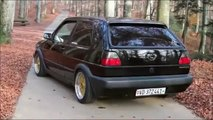 VW Golf 3 VR6 Syncro and Golf 2 GTI