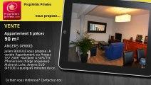 A vendre - appartement - ANGERS (49000) - 5 pièces - 90m²
