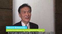 Conférence Paris Climat 2015 : Itw Professeur Hikaru Kobayashi, ancien vice-ministre de l'environnement japonais
