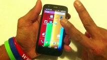 Moto G: Android 4.4.2 KitKat - Descubre como usar - Controlar tu Moto G con movimientos y Gestos