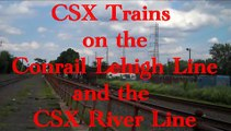 CSX Stealth C40-8 and other CSX Trains in New Jersey