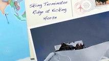 Skiing Terminator Ridge at Kicking Horse