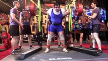Squat - pro (1st day - powerlifting) - 1st attempt. WRPF#1 Russian open