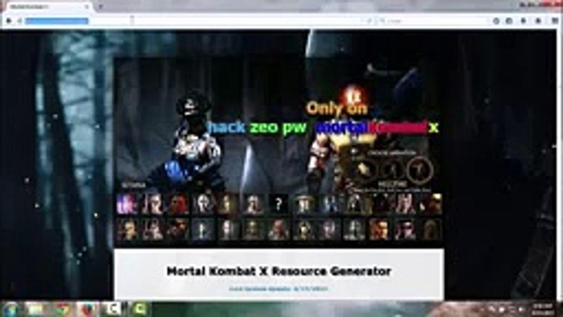Mortal Kombat X Hack - Tutorial and Mortal Kombat X Cheats