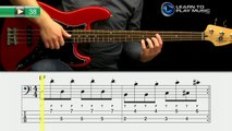 Ex038 How to Play Bass Guitar   Slap Bass Guitar Lessons for Beginners