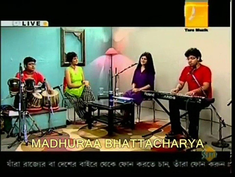 Classic BollyWood Song Medley Based On Raag Yaman By MADHURAA BHATTACHARYA (Live)