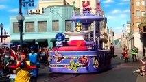 Inside Out Pre-Parade DCA Disney's California Adventure Pixar 2015 Disneyland Resort