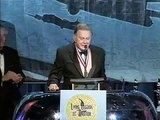 Living Legends of Aviation Cliff Robertson Presenting John Travolta with the Ambassador of Aviation Award