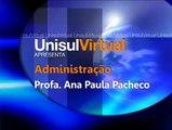 ADMINISTRAÇÃO DE EMPRESAS - PROF. ANA PAULA PACHECO - COORDENADORA - BOAS VINDAS
