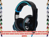 VersionTech Blue EACH G6000 Professional 3.5mm PC Gaming Stereo Noise Cancelling Headset Headphone