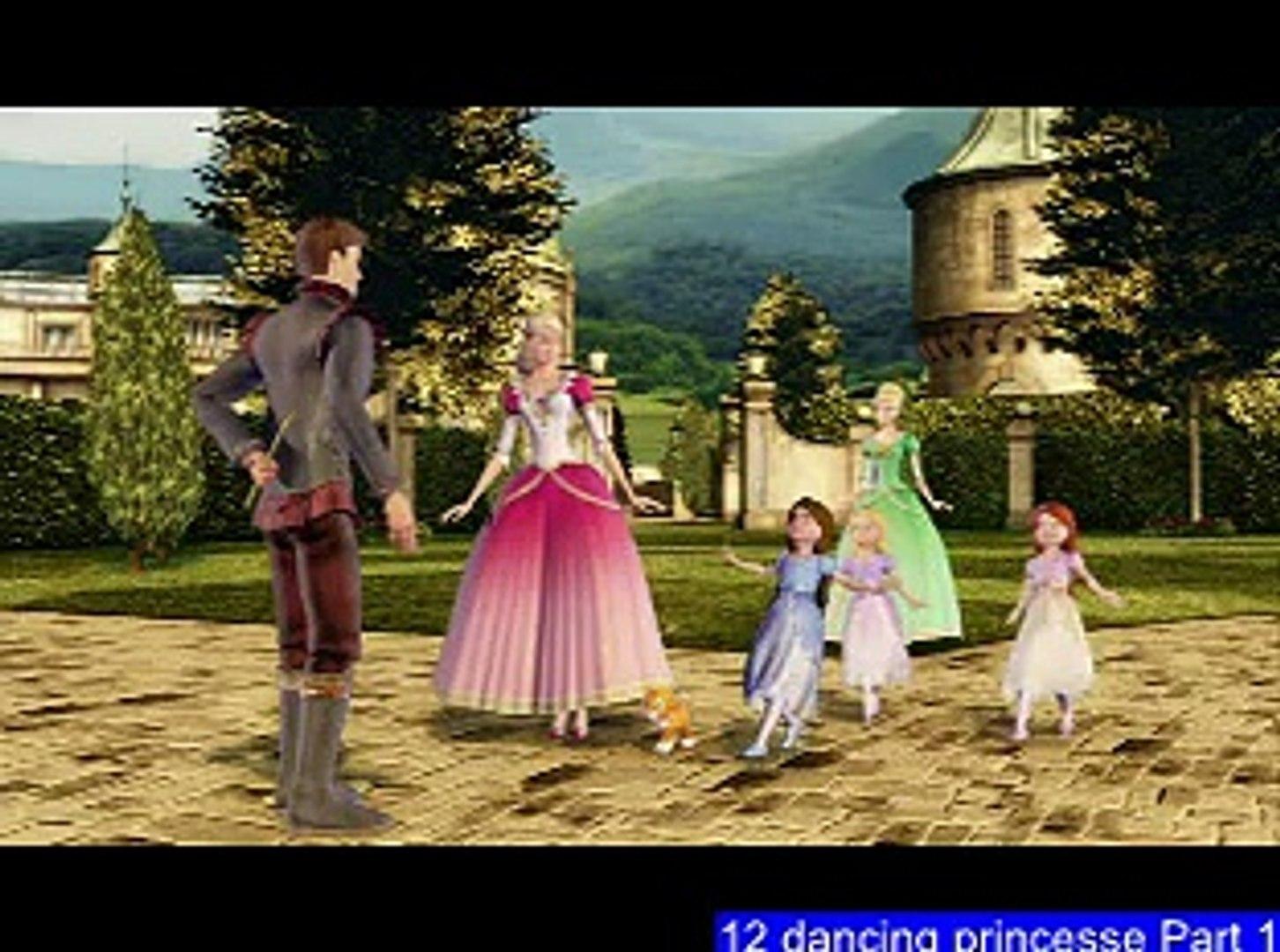 Barbie- ''12 dancing princesses'' part 1