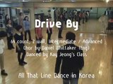 Drive By - Line Dance (Demo & Walk Through)