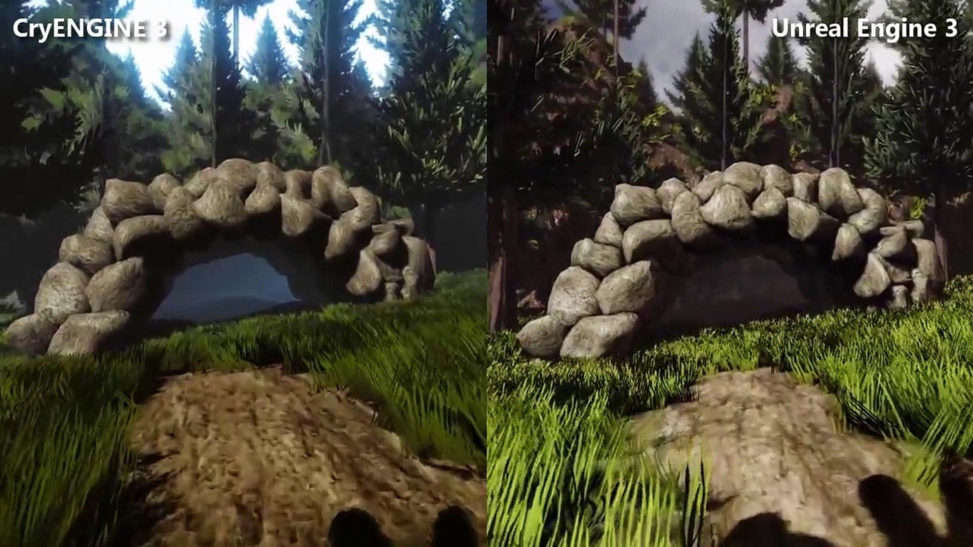 [Comparison] CryENGINE 3 vs  Unreal Engine 3