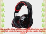 Each G6000 3.5 Mm Stereo Gaming Headphone Headset Headband with Mic Volume Control Glaring